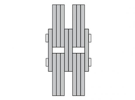 BL Series 4x6 forklift chain